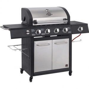 Plinski roštilj sa 4 plamenika